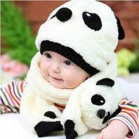 Buy cheap 2016 Children's Baby Panda Hat (Cap+Scarf) product