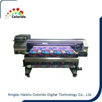 Buy cheap 1600mm width Belt type digital textile printer with DX5 head product