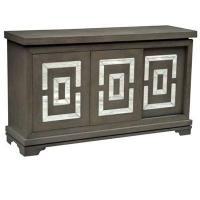 Buy cheap Marshall 3 Sliding Door and Mirror Distressed Media Console 54x16x32 product