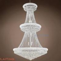 China Huge size hotel lobby factory lighting chandelier made in China 63028 wholesale