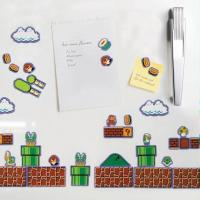 Buy cheap NINTENDO SUPER MARIO BROTHERS CREATE A SCENE REFRIGERATOR MAGNET SET product