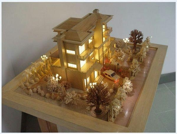 Quality Architectural Scale Model House,wooden Architectural Models for sale