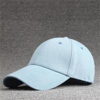 Buy cheap Korean Style Youth 6 Panel Baseball Caps Made in Factories product