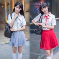 Buy cheap OEM Girls Model of High School Uniforms Made in China Factory from wholesalers