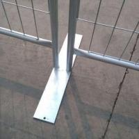 Public Wire Mesh Fence DM-Temporary Fence Base-07