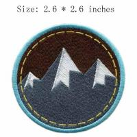 Buy cheap Custom Martial Arts Supplies Martial Arts Hunting and Fishing Patches Embroidered Emblems product