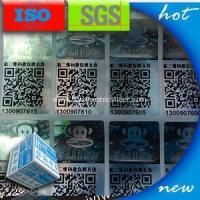 China QR code Hologram Seal Stickers on sale