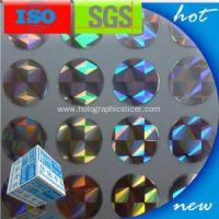China Anti-Counterfeit Holographic Sticker Label on sale