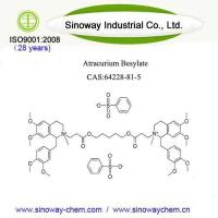 Buy cheap Atracurium Besylate Powder CAS 64228-81-5 100% Pure Factory Supply product
