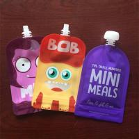 Buy cheap Ziplock Reusable Stand Up Baby Food Spout Pouch Bags Refillable Squeeze Pouches product