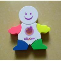 Buy cheap Snow man shaped highlighters, Person shaped highlight markers product