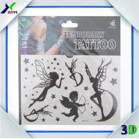 Buy cheap Promotional Custom Logo Printed Non-toxic temporary tattoo sticker For Decoration product