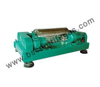 Quality Three Phase Horizontal Screw Decanter Centrifuge Equipment For Food Industry for sale