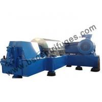 Buy cheap Horizontal Continuous Centrifugal Decanter Machine For Wastewater And Petroleum Refining Treatment product