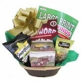 Quality Men's Vintage Gift Basket for Birthday, Retirement, Get Well for sale