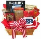 Buy cheap All American Gift Basket with Book and Snacks product