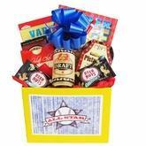 Buy cheap All Star Mens Gift Basket with Puzzle Books and Snacks product