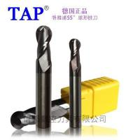 Buy cheap Tungsten steel milling cutter TAP55 spherical milling cutter product