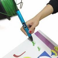 Buy cheap 3D Pen X4 X4 3D Printing Pen with OLED Screen , Safety Holder 3d modelling pen draws in air product