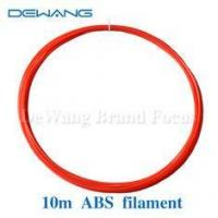 Buy cheap Red or Green Color ABS 3D Printer Filament / recycled plastic 3d printer filament product
