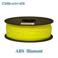 Buy cheap Multicolored 3D Printer Filament 1kg 2.2lb 1.75mm / 3.00mm ABS Material product