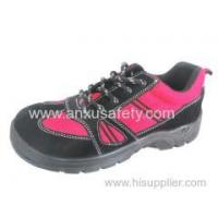 Buy cheap Low Cut Safety Shoes AX05017 suede leather safety shoes product