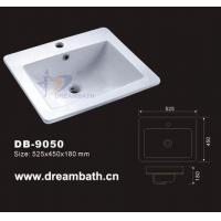 China BathroomSink Drop In Sink on sale