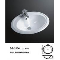 Buy cheap BathroomSink Porcelain Drop In Sink product