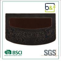 China Best-Selling Non-Slip Customized Welcome Decoration PVC Injection Mat wholesale