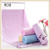 Buy cheap jacquard satin bamboo towel 75*34cm from wholesalers