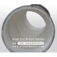 Buy cheap wear resistant ceramic tile lined elbow product