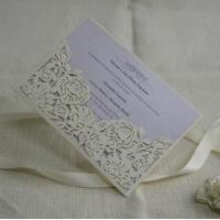 Pocket wedding invitation cards Item ID #IC1601-15
