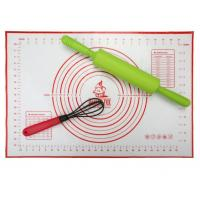 China Food Grade Kitchen Silicone Baking Mat With Measuring Scale on sale