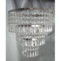 China 3 TIERED CRYSTAL ACRYLIC CHANDELIER wholesale