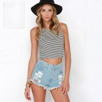Buy cheap High Waisted Ripped Denim Shorts for Women Ripped Jean Shorts from wholesalers