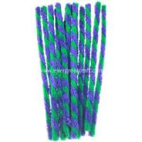 DIY Craft Twisted Chenille Stem Green color