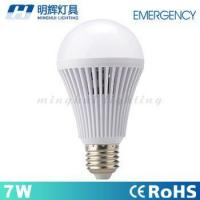 China 5W 7W 9W 12W Led Rechargeable Emergency Light E27 Smart Bulb With Emergency Battery wholesale