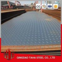 China q345b checkered platea36 low price checkered platess400 hot rolled checkered steel coil wholesale