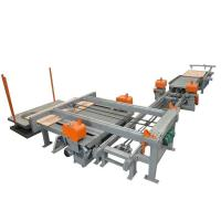 China CNC guide rail type edge trimming saw on sale