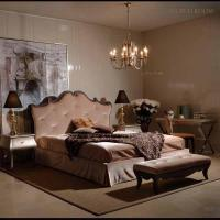 Buy cheap Elegant Modern Bedroom Furniture Set for Queen Size Bed with Solid Birch Wood Frame and Real Leather product