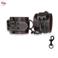 Buy cheap For men Black PU leather handcuffs for sex product