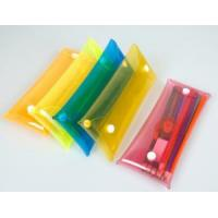 China yiwu factory of plastic clear pencil case