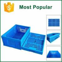Various Sizes Available Mesh Style Delivery Grape Foldable Crates