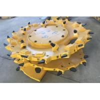 Reinforced Power Drum for Coal Mining Under the Ground