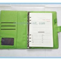 Corporate Journal Blue Faux Leather Cover, Magnetic clasp Refilled Pages