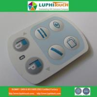 China Medical Device Laser Etching Backligt SIlicone Rubber Keypad on sale