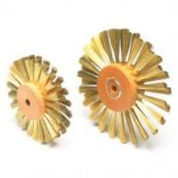 Buy cheap Large Brass Straight Wire Wheel Brush product