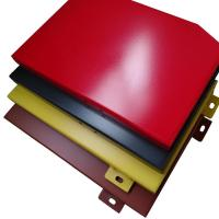 Buy cheap Light Weight Anodized Exterior Wall Aluminum Cladding with PVDF Coated product