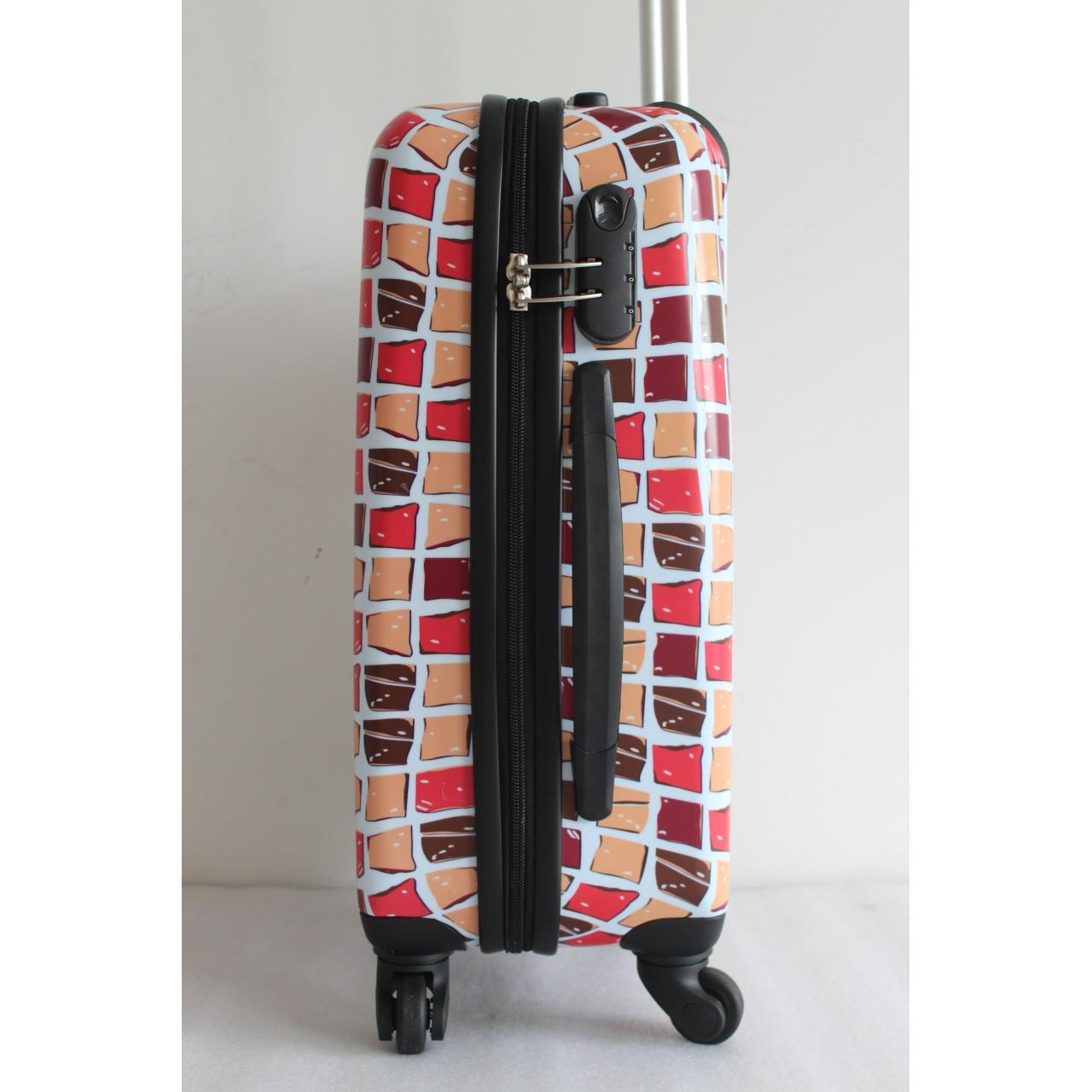 yanteng hard case luggage with well printing