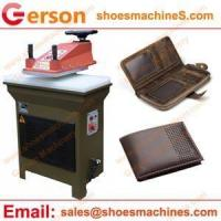 Leather cutting machine Cow Leather Briefcases Cutting Machine
